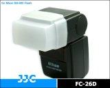 JJC製 Nikon SB-600 Olympus FL36  Panasonic DMWFL 360E  Sunpak PZ-42X 用 ディフューザー