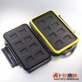 JJC製 MicroSDカード 16枚収納 メモリカード ケース MC-MSD16 防水頑丈