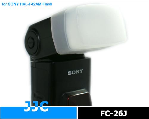 画像1: JJC製 SONY ストロボ HVL-F42AM HVL-F36AM PENTAX AF360FGZ 専用 フラッシュ ディフューザー 乳白色