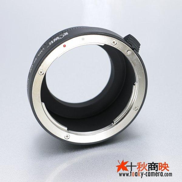 画像2: KIWIFOTOS製 Canon キャノン EOS EFレンズ→キャノン EOS M ミラーレスカメラ EF-Mマウントアダプター