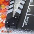 画像2: ドラマ・映画撮影・自主制作・店舗飾り用 木製 黒板式 カチンコ (2)