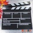 画像1: ドラマ・映画撮影・自主制作・店舗飾り用 木製 黒板式 カチンコ (1)