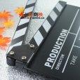 画像3: 改良版!ドラマ・映画撮影・自主制作用 木製 業務用 カチンコ 黒板式 (3)
