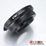 KIWIFOTOS製 オリンパス フォーサーズ 4/3マウント レンズ→パナソニック LUMIX カメラボディ マイクロフォーサーズ m4/3 マウントアダプター