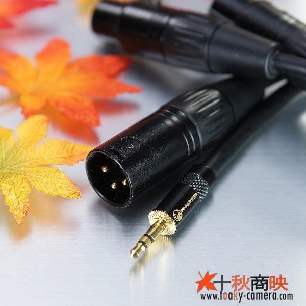 画像3: 3.5mm ステレオ ミニジャック ⇔ キャノン XLR 2本セット / キャノン用 XLR ⇔ キャノン XLR ケーブル