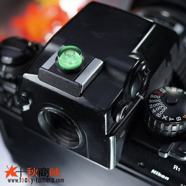 画像1: JJC製 最小サイズ1WAY 丸型 レベラー 水準器 (ニコン用)