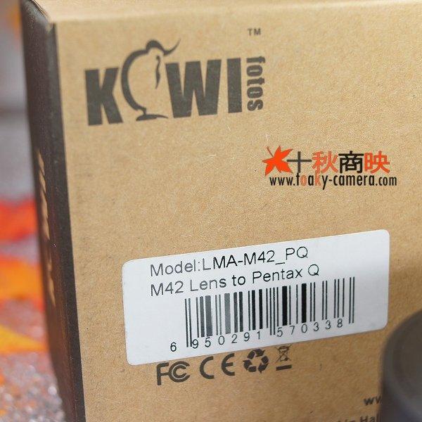 画像4: KIWIFOTOS製 M42 レンズ→ ペンタックス Q PENTAX Q カメラボディ マウントアダプター