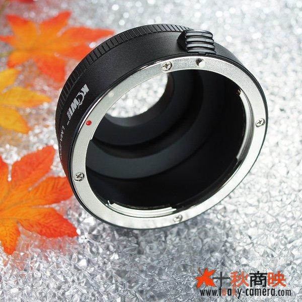 画像4: KIWIFOTOS製 キャノン Canon EOS EFレンズ→ペンタックス Q PENTAX Q カメラボディ マウントアダプター