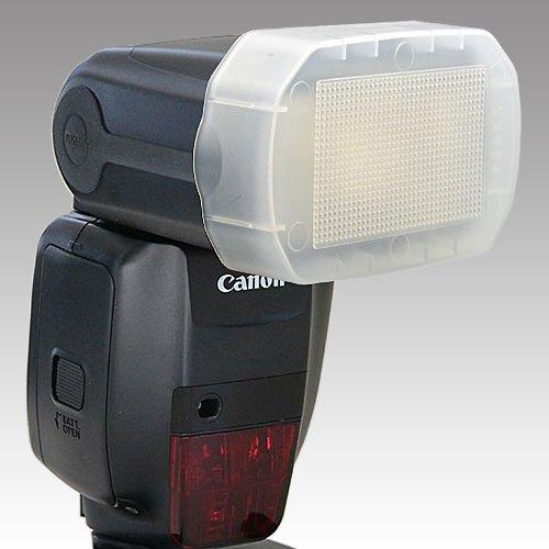 画像1: JJC製 Canon スピードライト 600EX-RT 専用 フラッシュ ディフューザー 乳白色