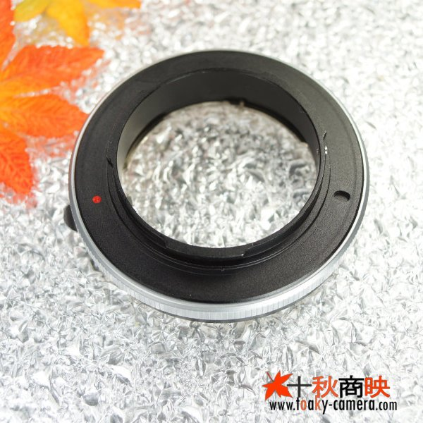 画像4: KIWIFOTOS製 コンタックス CONTAX Gマウントレンズ→ ソニー NEX カメラボディ Eマウントアダプター