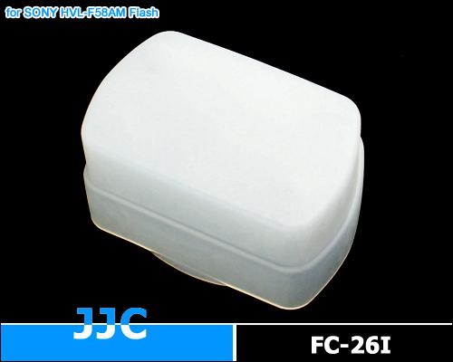 画像1: JJC製 SONY ストロボ HVL-F58AM Nissin Di866 専用 フラッシュ ディフューザー 乳白色