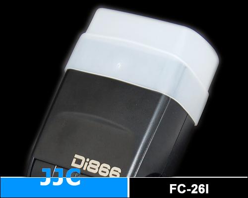 画像3: JJC製 SONY ストロボ HVL-F58AM Nissin Di866 専用 フラッシュ ディフューザー 乳白色