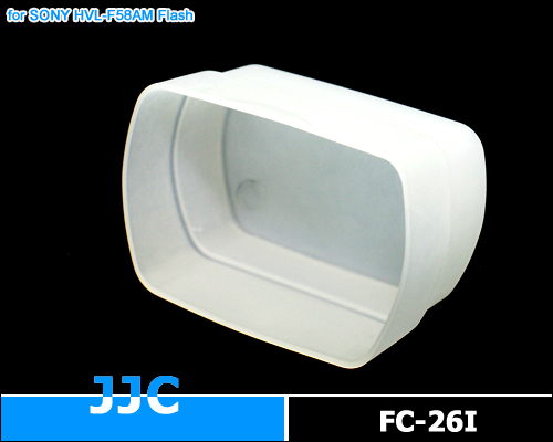 画像2: JJC製 SONY フラッシュ HVL-F58AM / Nissin Di622 Di866 専用 フラッシュ ディフューザー 乳白色