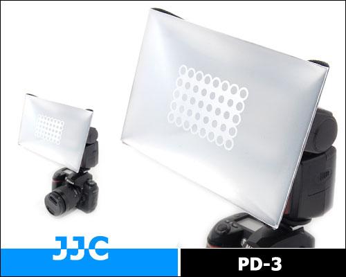 画像1: JJC製 ストロボ スピードライト フラッシュ 汎用 ディフューザー ミニソフトボックス PD-3