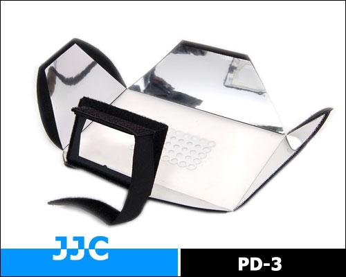 画像3: JJC製 ストロボ スピードライト フラッシュ 汎用 ディフューザー ミニソフトボックス PD-3