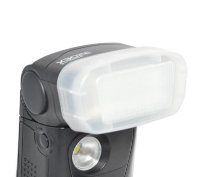 画像1: JJC製 Canon スピードライト 320EX 専用 フラッシュ ディフューザー 乳白色