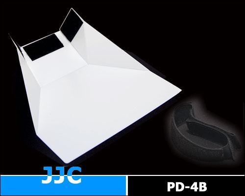 画像2: JJC製 ストロボ スピードライト フラッシュ 汎用 ディフューザー PD-4B