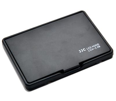 画像2: JJC製 3.0インチ 液晶LCD用 折りたたみ式 液晶フード 液晶LCDシェードフード 貼付け通用型