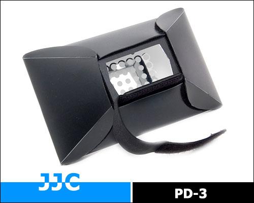 画像2: JJC製 ストロボ スピードライト フラッシュ 汎用 ディフューザー ミニソフトボックス PD-3
