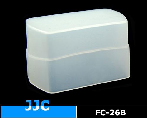 画像1: JJC製 Canon スピードライト 430EX 430EXII / SONY フラッシュ HVL-F43M 等用 フラッシュ ディフューザー 乳白色