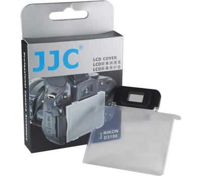 画像2: JJC製 Nikon ニコン D3100 専用 液晶保護カバー