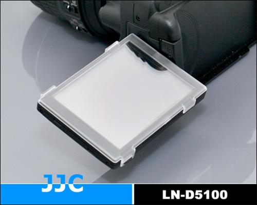 画像1: JJC製 Nikon ニコン D5100 専用 液晶保護カバー