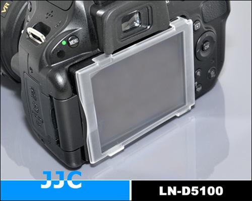 画像2: JJC製 Nikon ニコン D5100 専用 液晶保護カバー