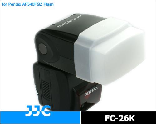 画像1: JJC製 ペンタックス フラッシュ AF540FGZ / Metz 40 MZ3i MZ1i 専用 フラッシュディフューザー