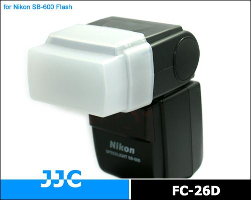 画像1: JJC製 Nikon  スピードライト SB-600 / Olympus FL360 / Panasonic DMWFL 360E 等用 ディフューザー