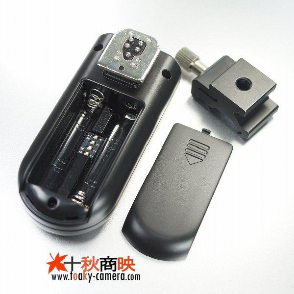画像3: YONGNUO製 ラジオスレーブ RF-603 単体のみ(送受信機一体) キャノン 1Ds/5DMarkII/7D/50Dなど対応