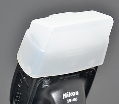 画像1: JJC製 Nikon ニコン SB-400 専用 ディフューザー