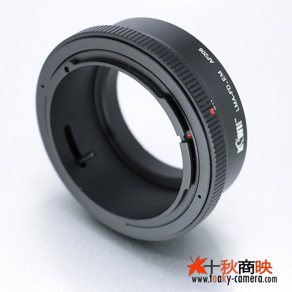 画像1: KIWIFOTOS製 キャノン FD / New-FD レンズ→ソニー NEX カメラボディ Eマウントアダプター