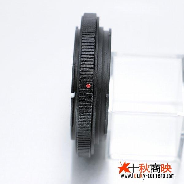 画像3: KIWIFOTOS製 キャノン FD / New-FD レンズ →  キャノン EOS カメラボディ マウントアダプター 補正レンズ付