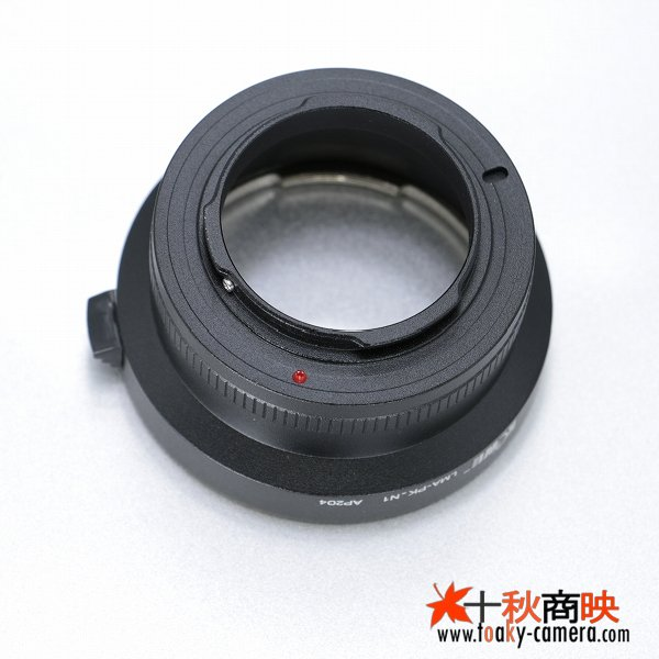 画像3: KIWIFOTOS製 PENTAX ペンタックス Kマウント PKレンズ→ニコン1 Nikon 1シリーズ カメラボディ マウントアダプター