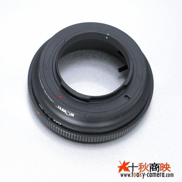 画像4: KIWIFOTOS製 Canon キャノン FD / New-FD レンズ→パナソニック LUMIX カメラボディ マイクロフォーサーズ m4/3 マウントアダプター