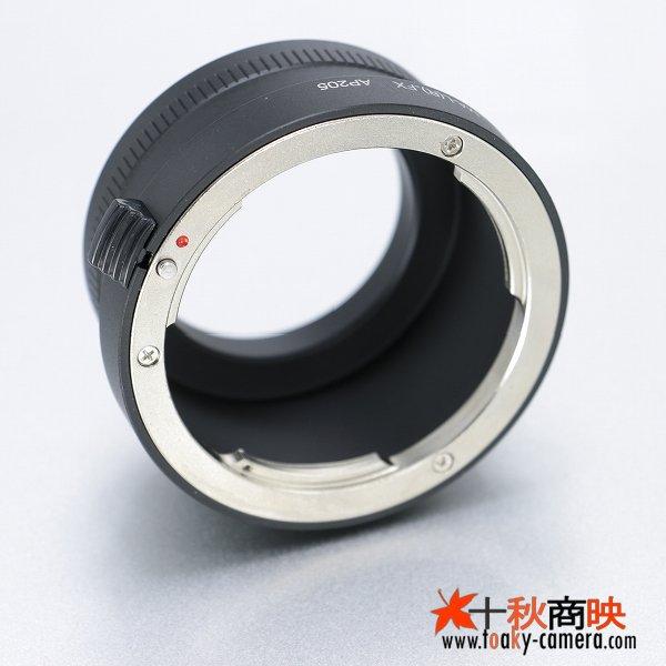 画像3: KIWIFOTOS製 Leica ライカ Rレンズ → 富士フィルム FUJIFILM Xマウント カメラボディ マウントアダプター