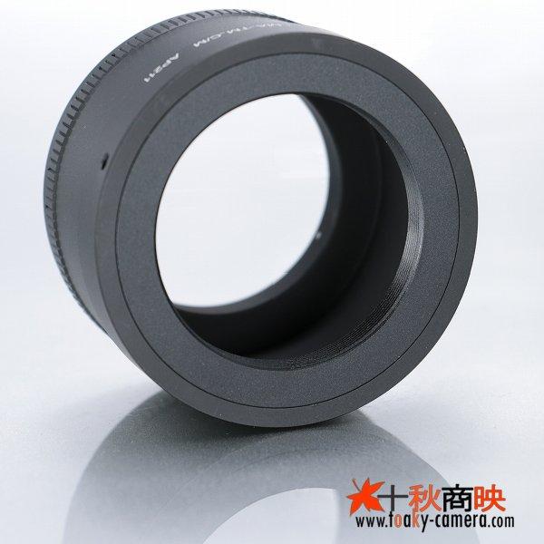 画像3: KIWIFOTOS製 Tマウントレンズ→キャノン EOS M ミラーレスカメラ EF-Mマウントアダプター