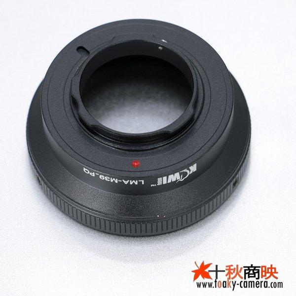 画像2: KIWIFOTOS製 M39レンズ→ペンタックス Q PENTAX Q カメラボディ Qマウントアダプター