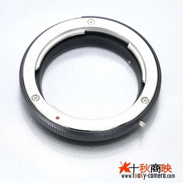 画像4: KIWIFOTOS製 コンタックス C/Y (CONTAX C/Y)マウントレンズ→ オリンパスE-5  パナソニックDMC-L10 フォーサーズ 4/3 カメラボディ  マウントアダプター