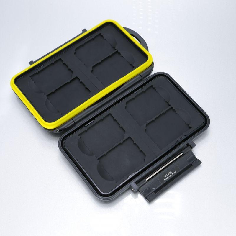 画像1: JJC製 SDカード 8枚収納 メモリカード ケース 防水 MC-SD8
