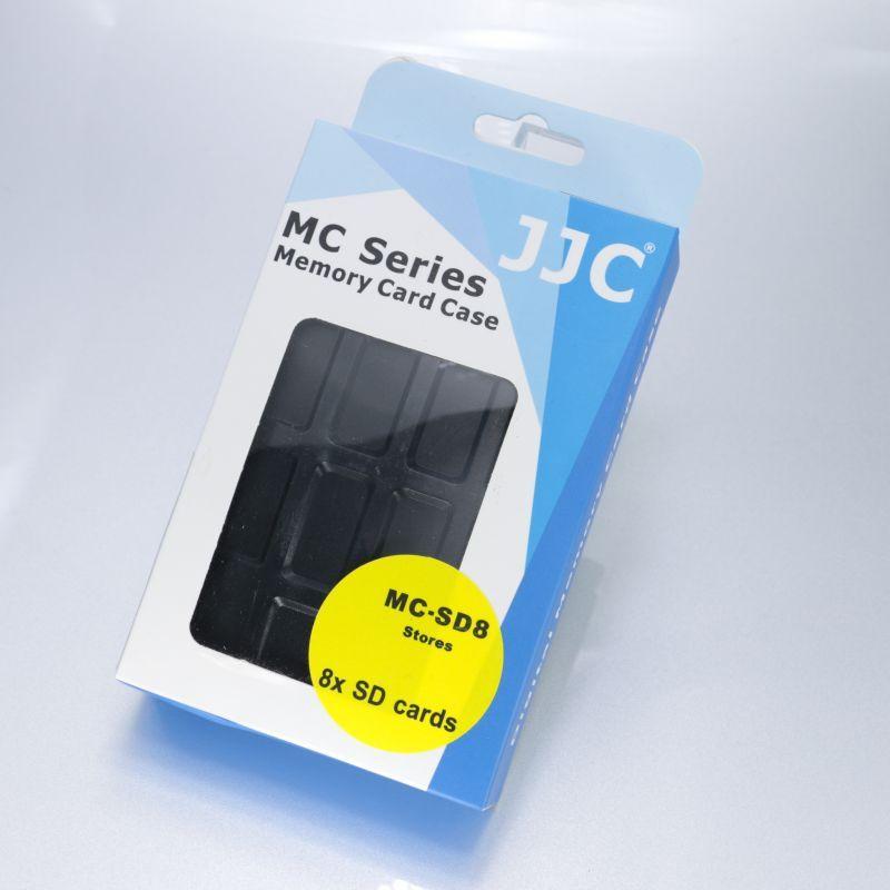 画像3: JJC製 SDカード 8枚収納 メモリカード ケース 防水 MC-SD8