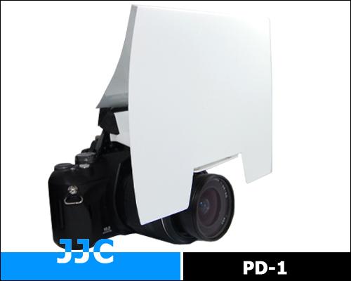 画像1: JJC製 ポップアップストロボ 用 ディフューザー ミニソフトボックス PD-1