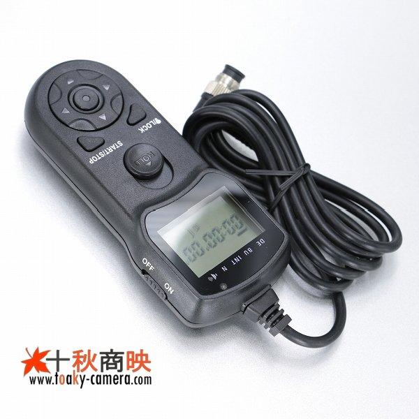 画像1: JJC製 インターバルタイマー付 コントローラー ニコン  MC-36 / MC30 互換品 TM-B