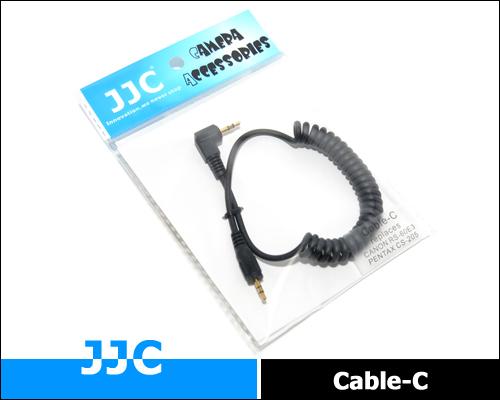 画像2: JJC カメラ接続コード Cable-C [キャノン RS-60E3 / ペンタックス CS-205 互換]