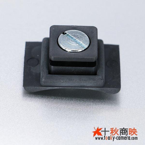 画像2: JJC製 コールドシュー→ ネジ 変換アダプター ゴム製曲面 MSA-4
