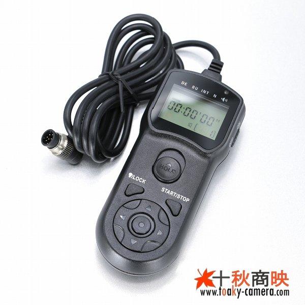 画像2: JJC製 インターバルタイマー付 コントローラー ニコン  MC-36 / MC30 互換品 TM-B