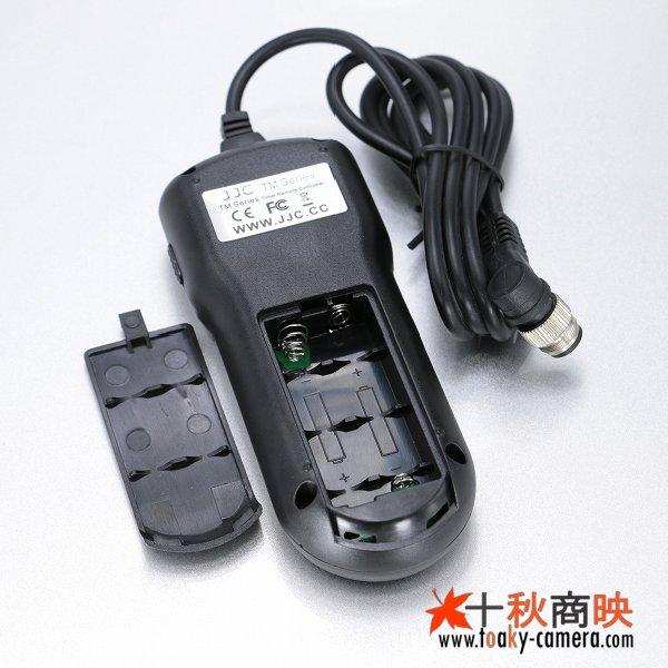 画像3: JJC製 インターバルタイマー付 コントローラー ニコン  MC-36 / MC30 互換品 TM-B