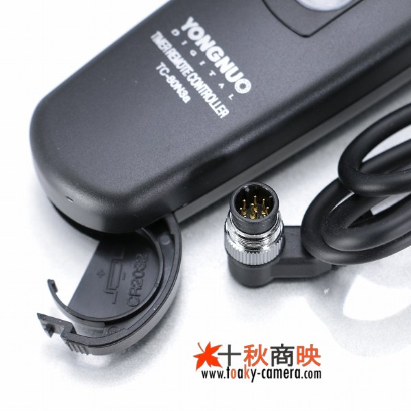 画像4: YONGNUO製 インターバルタイマー付 リモートコード ニコン MC-36 互換品