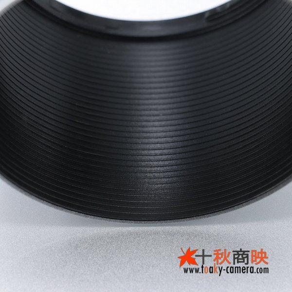 画像4: JJC製 オリンパス OLYMPUS ZUIKO DIGITAL ED 40-150mm F4.0-5.6 専用 レンズフード LH-61D 互換品 シルバー