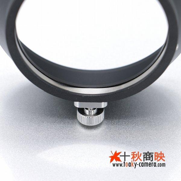 画像4: JJC製 オリンパス OLYMPUS M.ZUIKO DIGITAL ED 17mm F1.8 用 メタル レンズフード LH-48B 互換品 黒